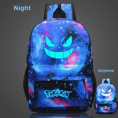 Pokémon Go Backpack Luminous Gengar