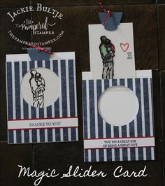 Xtra Mail Inbox Slider Cards, Window Cards, Fathers Day Cards, Super Happy, Happy Friday, A Good Man, Sliders, Ladybug, Stampin Up