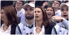 21-year-old Conor Farrell was probably hoping for a quiet, incest-free evening with his mother. A student at UW-Madison, he was home for a family event, and went with his mother to see the basketball game between the Milwaukee Bucks and the Toronto Raptors. This thoughtful outing, however didn't exactly go to plan. Awkward Kiss Cam …