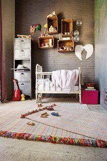 Kinder-Teppich durrie