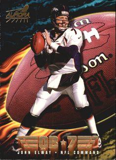 1998 (BRONCOS) Aurora NFL Command #2 John Elway #Aurora #DenverBroncos