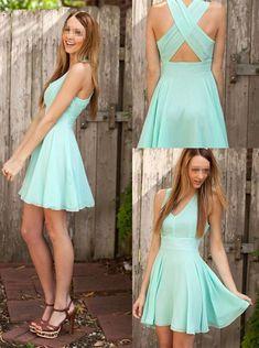 Short prom Dress,mint Prom Dresses,cheap prom dress,Party dress for girls,homecoming dress
