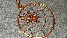 """(88) How to make """"Dreamcatcher"""" with colorful beads - YouTube"""