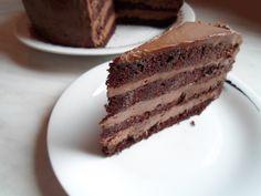 Tort cu ciocolata si nutella Nutella, Tiramisu, Ethnic Recipes, Tiramisu Cake