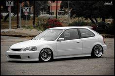 Voiture Honda Civic, Honda Civic Hatchback, Honda Crx, 2000 Honda Civic, Honda Civic Type R, Tuner Cars, Jdm Cars, Ek Hatch, Civic Eg