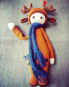 Лося Lalylala #амигуруми #игрушкиручнойработы #вязаныеигрушки #вязание #вязаныеизделия #handmade #игруш #подарок