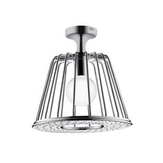 Axor 1-Jet LampShower designed by Nendo with Ceiling Showerarm