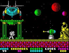 Indie Retro News: Exolon - Retro gaming classic by Hewson will soon feature unofficial 2 player co-op! Retro Video Games, Video Game Art, Retro Games, Pixel Art Games, Could Play, Gaming Computer, New Toys, Childhood Memories, Spectrum