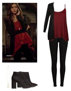 Elena Gilbert - tvd / the vampire diaries by shadyannon on Polyvore featuring polyvore fashion style WearAll Monsoon River Island H&M clothing