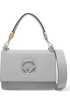 74ec1935c87d Fendi - Kan I leather shoulder bag