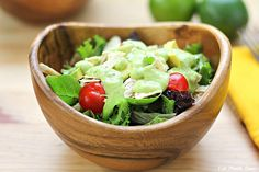 Southwest Chicken Salad with Creamy Avocado Lime Dressing from @Stephanie Day