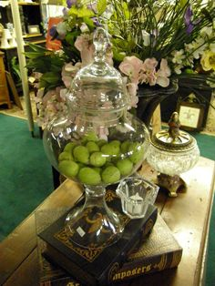 Apothecary jars great staples for your home