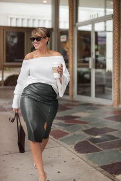 Bohemian Plus size fashion - Plus size fashion For Teachers - Plus size fashion For Work Fall - Short Plus size fashion Over 50 - Plus size fashion For Women Australia Curvy Women Fashion, Look Fashion, Fashion Outfits, Womens Fashion, Fashion Trends, Curvy Women Style, Cheap Fashion, Fashion Fall, Classy Fashion