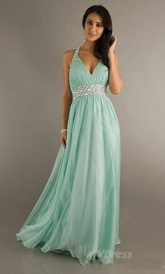 long evening dress , love the color :)