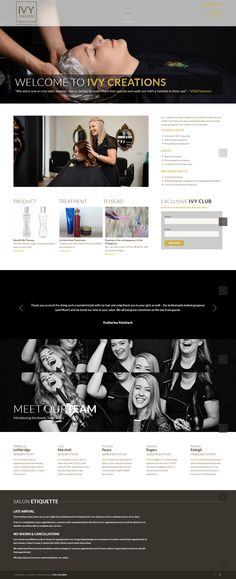Website Design & Development So what are you waiting for? Give Choc Chip Digital a call or fill out our enquiry form to set. Marketing Tools, Digital Marketing, Portfolio Website Design, Web Design Projects, Design Development, Hairdresser, Ivy, Haircuts, Google