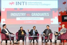 Engaging discussion: The panelists sharing their views. From left: Foong, Nur Azre, Sharma, Yoong and Khoo.