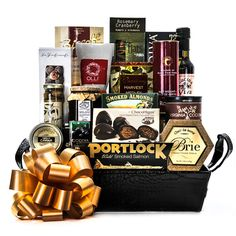 Premier Selections Gift Basket - Gourmet Gift Baskets For All Occasions Holiday Gift Baskets, Gourmet Gift Baskets, Holiday Gifts, All Gifts, Wine Gifts, Fathers Day Baskets, Champagne Gift Baskets, Chocolate Pack, Fruit Gifts