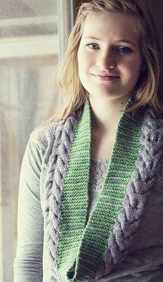 Ravelry: What You Wish Scarf and Cowl pattern by Terri Kruse #knit #pattern
