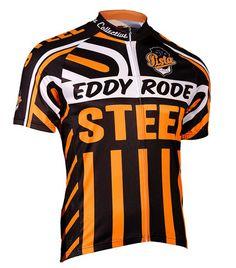 Eddy Rode Steel Cycling Jersey