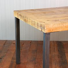 Patio table ideas with rectangle reclaimed wood table with for Reclaimed wood furniture los angeles