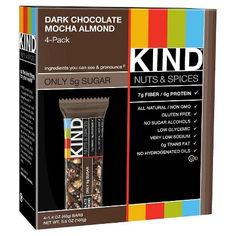 Kind® Dark Chocolate Mocha Almond Nutrition Bars