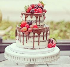 drip cake matrimonio