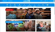 Information on emergency situations and campaigns is placed at the top of the homepage. The design reflects what matters most to UNICEF PFP employees. http://www.steptwo.com.au/award-winner/unicef-pfp-rethinking-intranet-scratch/?utm_campaign=coschedule&utm_source=pinterest&utm_medium=Step%20Two&utm_content=UNICEF%20PFP%3A%20Rethinking%20an%20intranet%20from%20scratch