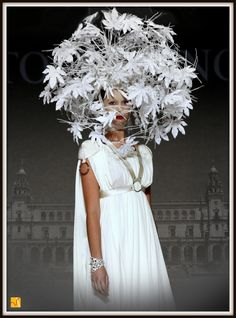"""Atelier Haute Mode.: Magic And Imagination Come Together at """"Interview with Caronte"""" Fashion Show by The Remarkable Team Of Tolentino Haute Hats."""