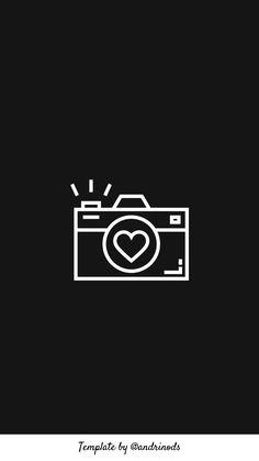 camera black and white Instagram Logo, Instagram Black Theme, Black And White Instagram, Instagram Symbols, Instagram Story Ideas, Whats Wallpaper, Cute Black Wallpaper, Camera Wallpaper, Black Background Wallpaper