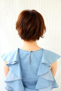 ニュアンスマッシュショート | BRIDGE(ブリッジ)のヘアスタイル・髪型・ヘアカタログ - 美美美コム