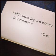 Said Sanna never. Ny höst. Nya tag. Nya citat to live by.