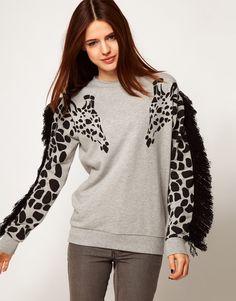 cray cray giraffe sweatshirt