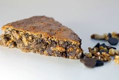 This gluten-free Chocolate Walnut Torte is another less expensive way to make higher-protein, lower glycemic desserts, without the expense of almond flour.