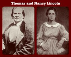 Abe's Parents, Thomas Lincoln and Nancy Hanks Abraham Lincoln Family, Lincoln Life, Mary Todd Lincoln, American Presidents, American Civil War, American History, Us History, History Facts, Ancient History
