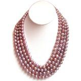 So unique. Rope Necklace, Pearl Necklace, Beaded Necklace, Baroque, Diva, Exotic, Lavender, Pink Pearls, Strands
