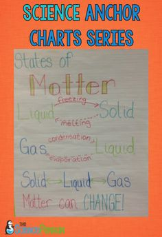 Physical Science Anchor Charts — The Science Penguin