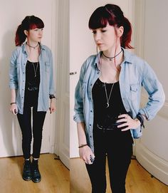 New Look Jacket, H&M Pants, Primark Top