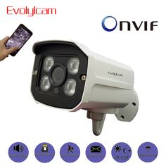 Evolylcam Audio 720P 1MP/ 960P 1.3MP/ 1080P 2MP HD IP Camera Micro SD/TF card slot Network Alarm CCTV Camera Onvif P2P Security