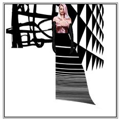 #poster #fashion #collage # architecture # art #contemporary created by [ J |