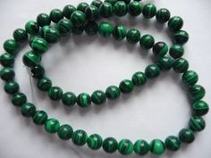 Beads, Green Malachite, Gemstone, 6mm, Round, Mohs hardness 3 to 4, Pkg Of 12 by darsjewelrysupplies. Explore more products on http://darsjewelrysupplies.etsy.com