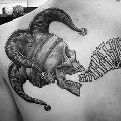 50 Jester Tattoo Designs For Men