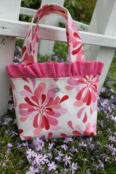 Sew Little Girl Purse | DESIGN YOUR OWN Little Girl Flower Girl Purse by sweetsugarbeet