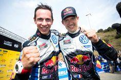 Sebastian Ogier czwarty raz z rzędu mistrzem serii WRC https://www.moj-samochod.pl/Sporty-motoryzacyjne/WRC-Hiszpania--Ogier-po-raz-czwarty-z-rzedu-mistrzem #WRC #WRCSpain #Spain #Ogier
