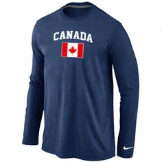 b188f7173 Nike 2014 Olympics Canada Flag Collection Locker Room Long Sleeve T-Shirt D.