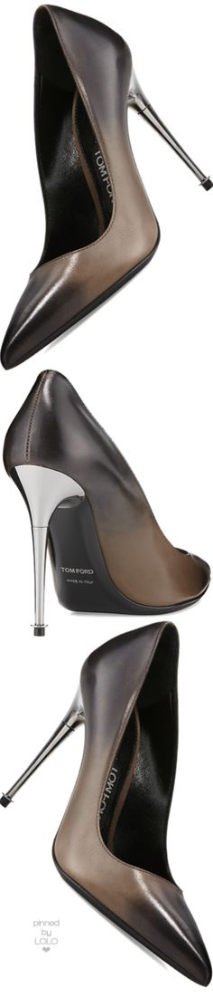 TOM FORD Degrade Leather 105mm Pump | LOLO❤︎