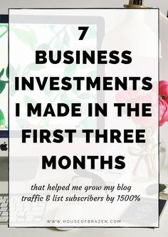 7 Blogging & Busines