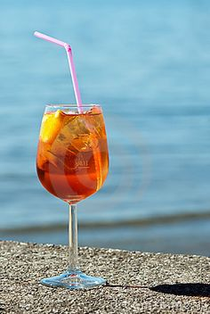 Prosecco And Aperol Spritz Royalty Free Stock Photography - Image: 18644657