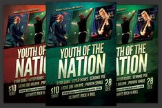 Youth of the Nation Flyer by KiraYamato on Concert Flyer, Model Photos, Flyer Template, Be Perfect, Flyers, Rock And Roll, Indie, Youth, Graphic Design