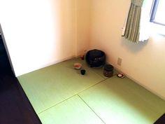 フローリングの一部を茶室スペースに。畳を敷いて簡単リフォーム 【お客様の声】 写 ...