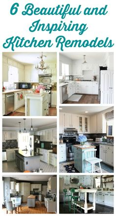 6 Beautiful and Inspiring Kitchen Remodels